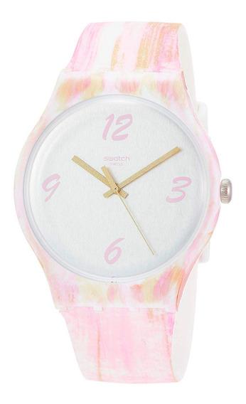 Relógio Swatch Pinkquarelle Feminino Suow151