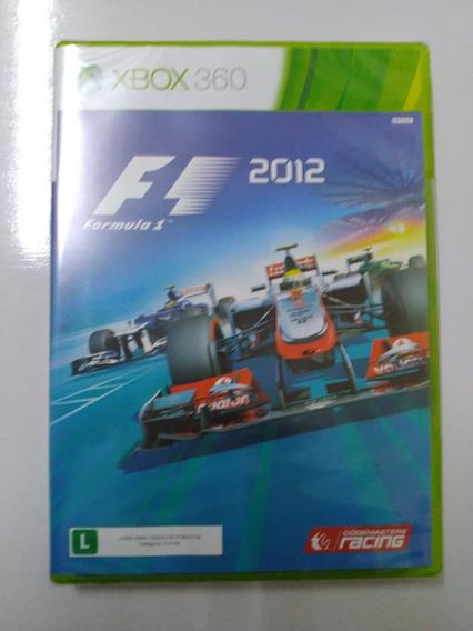 F1 2012 Original Lacrado Xbox 360