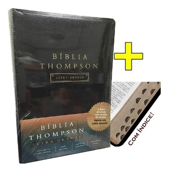 Bíblia De Estudo Thompson Grande C/ Indice - Preta