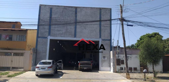 Galpão À Venda, 558 M² Por R$ 850.000 - Parque Oeste Industrial - Goiânia/go - Ga0018