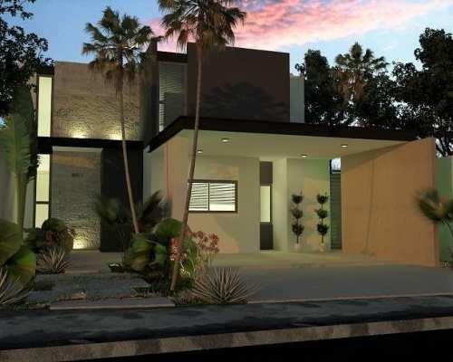 Hermosas Casas Ubicadas En Parque Central Residencial Nuevo Cholul