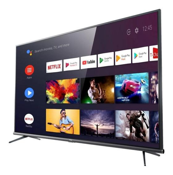 Tv 55 Led Tcl 55p8m Smart Android Tv Uhd 2 Usb 3 Hdmi 37170