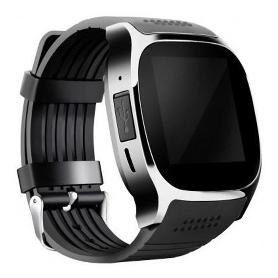 1 Pc Negro Hoaya Inteligente Reloj T8 280mah