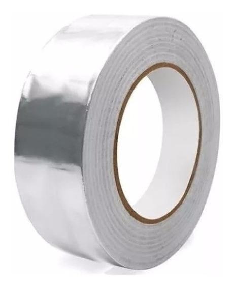 Fita Adesiva Térmica Alumínio Alta Temperatura 30 Mm X 30mts