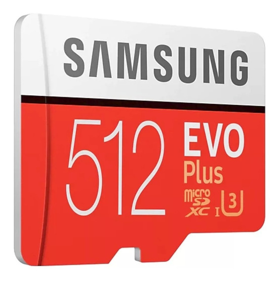 Cartão Micro Sd Samsung Evo 512gb Sdxc Memoria Gopro Hero 7