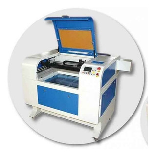 Maquina De Gravar -cortar Acrilico, Pvc, Mdf Laser 4060 100w