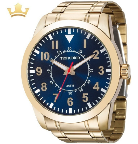 Relógio Mondaine Masculino 99138gpmvde2 C/ Garantia E Nf