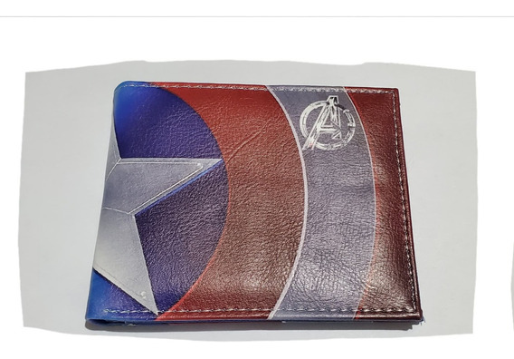 Cartera Marvel Capitan America Avengers Endgame