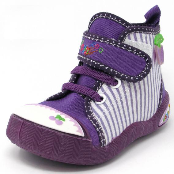 Zapatos Niñas Yoyo M1002 Púrpura 19-24. Envío Gratis