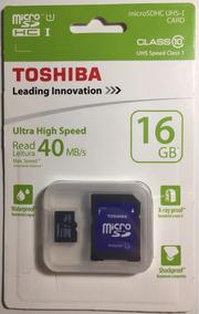 Cartão Micro Sd 16 Gb Toshiba (classe 10)