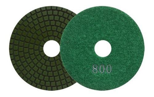 Pad De Diam Pulido Vlcro Color Verde. G Austromex Aus2764