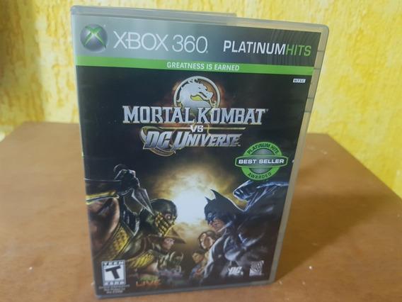 Mortal Vs Dc Universe Usado Xbox 360 Original Mídia Fisica