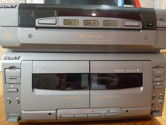 Sony Fh-w55av (apenas Cd Player E Tape-deck) Com Cabos Flat