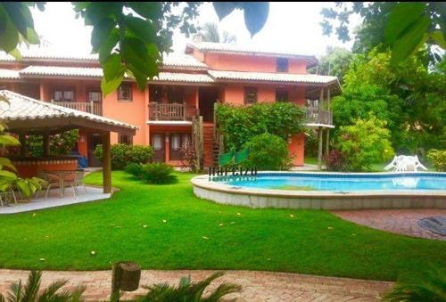 Village, 60 M² - Venda Por R$ 750.000,00 Ou Aluguel Por R$ 4.500,00/mês - Praia Do Forte - Mata De São João/ba - Vl0071