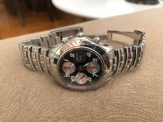 Relógio Movado Kingmatic Valjoux 7750