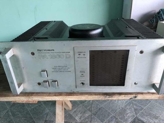Amplificador Cygnus Pa1800d Em Bom Estado