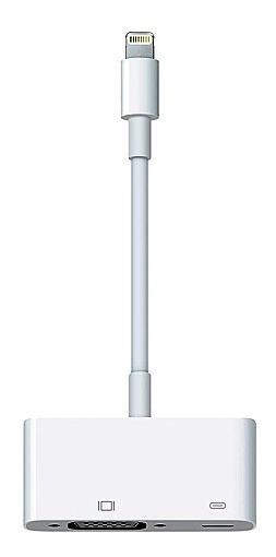 Adaptador De Lightning Para Vga Branco - Apple - Md825bza