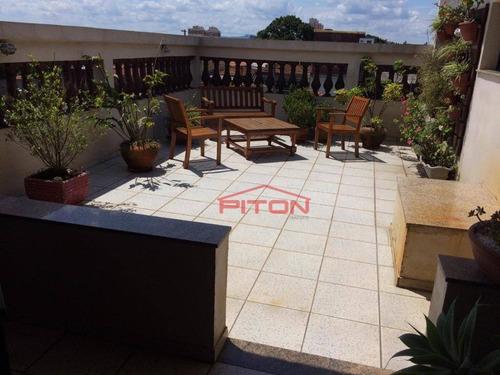 Imagem 1 de 22 de Cobertura Com 3 Dormitórios À Venda, 150 M² Por R$ 590.000,00 - Jardim Popular - São Paulo/sp - Co0012