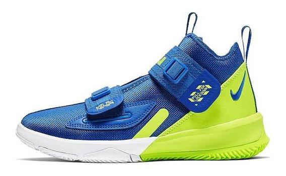 Tenis Nike Lebron Soldier 13 Gs Game Royal Original Nuevo!!!