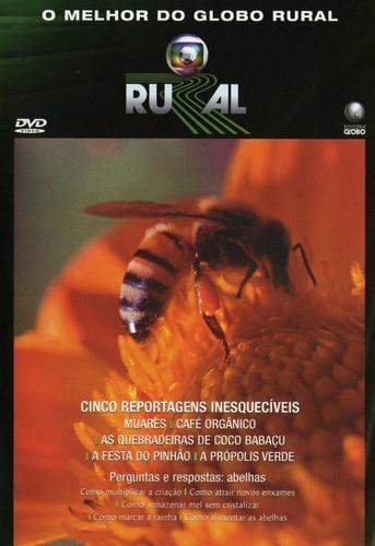 Imagem 1 de 2 de Dvd O Melhor Do Globo Rural 25 Anos - Muares, Café Orgânico