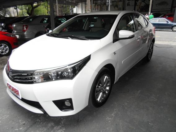 Toyota / Corolla 2.0 Altis 16v Flex 2015 Branco Perolizado