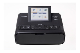 Impresora Canon Para Fotos Selphy Cp1300 Wifi Color Negro