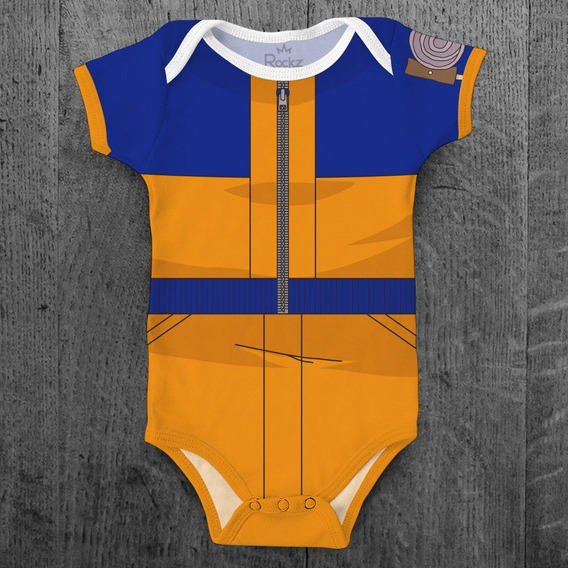 Body Do Naruto Para Bebê Naruto Shippuden Infantil