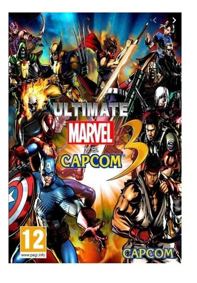 Ultimate Marvel Vs. Capcom 3-pc-dvd(midia Fisica)