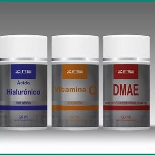 Zine Activos Conc Hialuronic + Dmae + Vit C Dermaroller