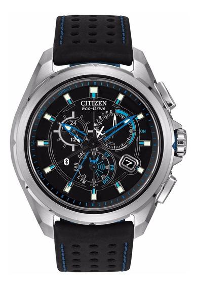Relógio Masculino Citizen At703005e Couro