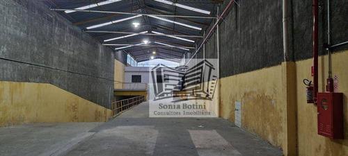 Galpão Para Alugar, 1100 M² Por R$ 17.000,00/mês - Vila Alpina - São Paulo/sp - Ga0182