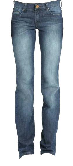 Jean Tall Ossira Mujer -ancho En Botamanga- Elastizado