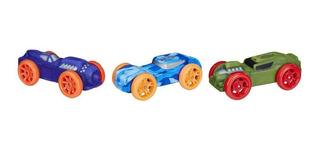 Nerf Nitro Set Foam Cars 3 Autos De Espuma (1578)