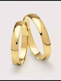 Alianças Casamento Em Ouro 18k , Direto Da Fabrica