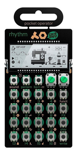 Pocket Operator Teenage Engineer Po12 Rhythm Drum Machine