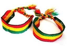 Pulseira Do Reggae Da Larga (boby Marley) ( Kit 80 Peças )