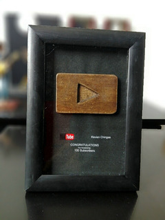 Placa De Youtube | Totalmente Personalizada