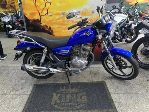 Imagem 1 de 8 de Haojue Chopper Road 150 - Azul- 2020- King Motos