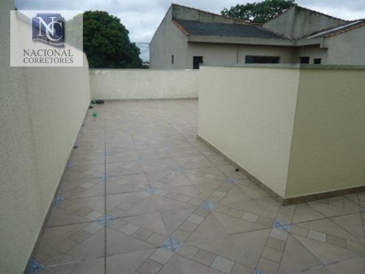 Cobertura Com 2 Dormitórios À Venda, 100 M² Por R$ 260.000,00 - Parque Novo Oratório - Santo André/sp - Co1029