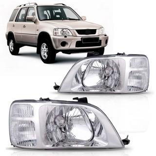 Par Faro Honda Crv 1997 1998 1999 2000 2001