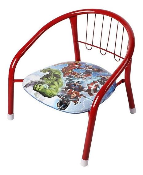 Poltrona Infantil Metal Banquinho Criança Marvel