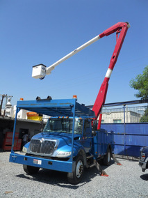 Grua Canastilla Marca Altec De 55 Pies En International 2006