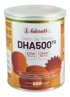 Ômega-3 Dha 500 (1000mg) 100 Cápsulas - Naturalis