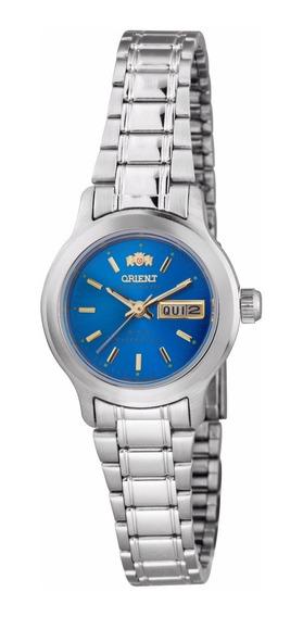 Relógio Orient Automático Feminino Azul 559wa6x A1sx