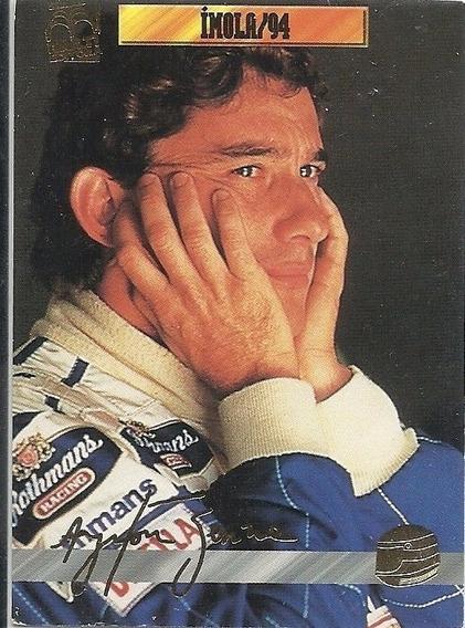 Card Ayrton Senna San Marino 1994 N-50 (i)