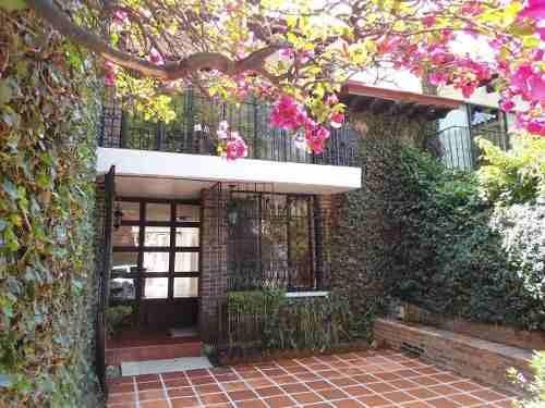 Hermosa Casa Sola En Renta , Estilo Colonial En Tlacopac (s)