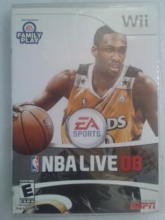 Nba Live 08 Juego Original De Wii Y Compatible Con Wii U