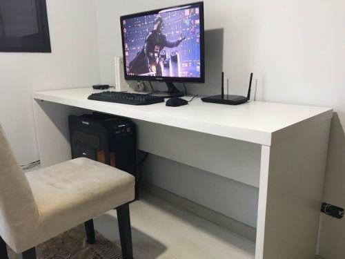 Computador Mesa Escritório Escrivaninha Bancada Gaveteiromdf