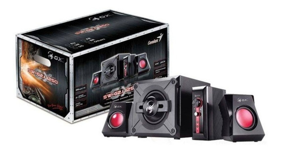Caixa De Som - 2.1 - Genius Sw-g2.1 1250 38w Rms