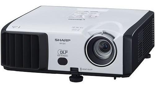 Projetor Sharp Xr-32x-l 2500 Lumens Xga - Trocar Lâmpada